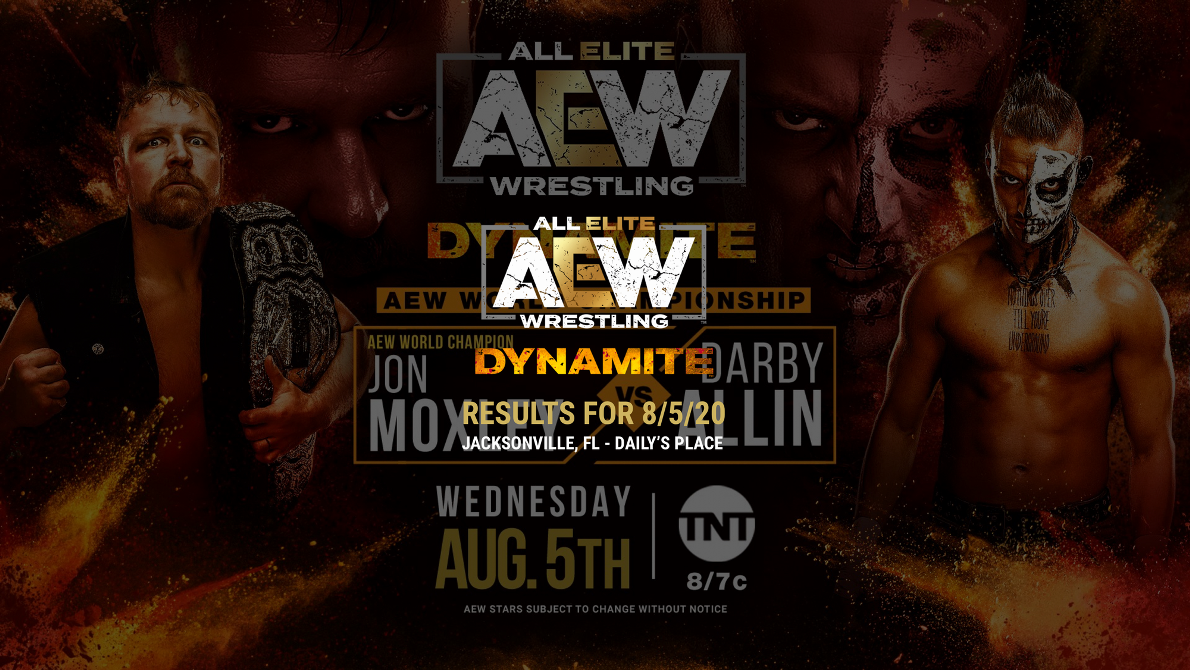 Aew Dynamite Results For August 5 2020 Dynamite Double Team Dax