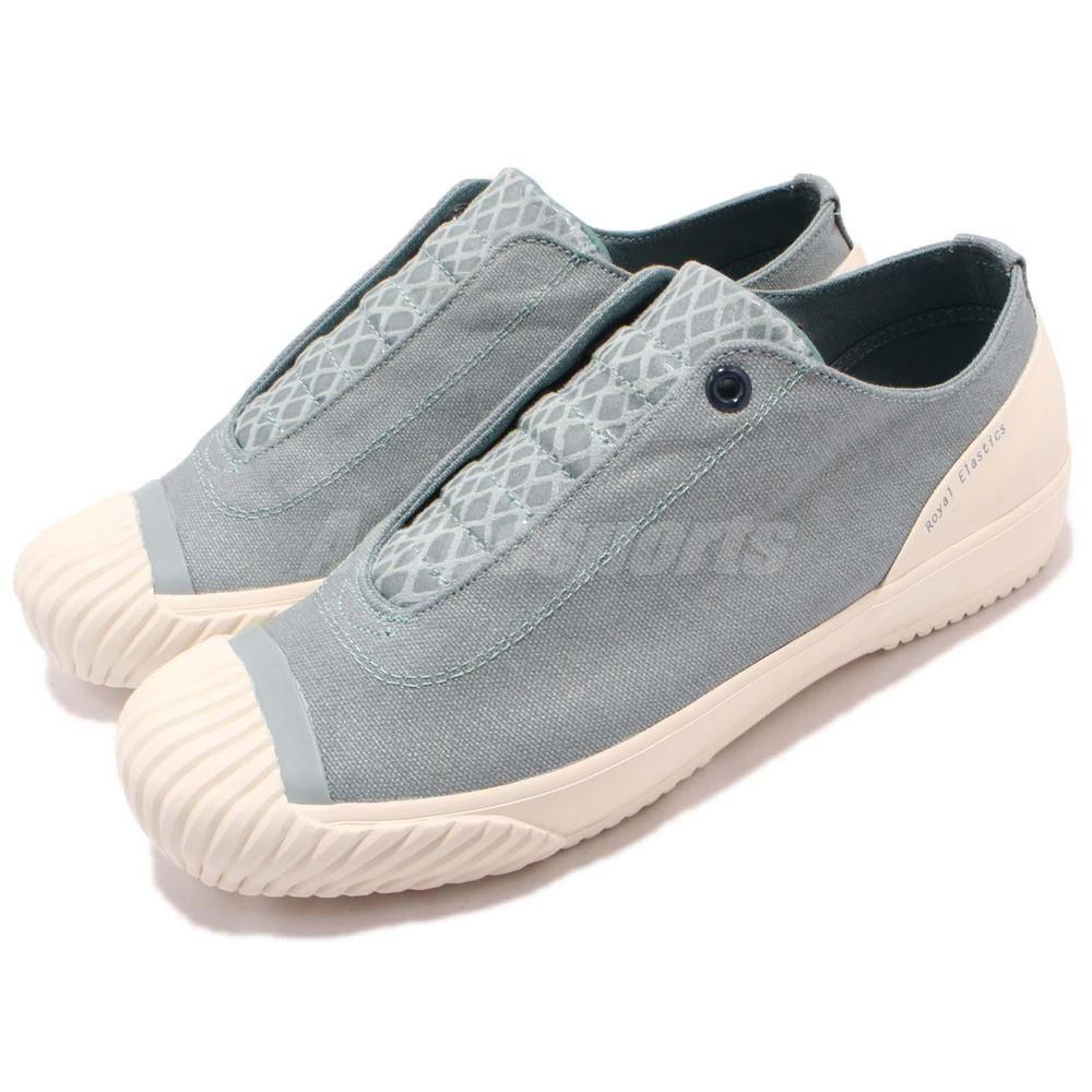 Royal Elastics London 1805 Canvas Sky Blue White Women Casual Shoes  93582-505 White Women f2af75808