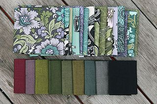 Oakshott Cottons and Tula Pink's Nightshade line
