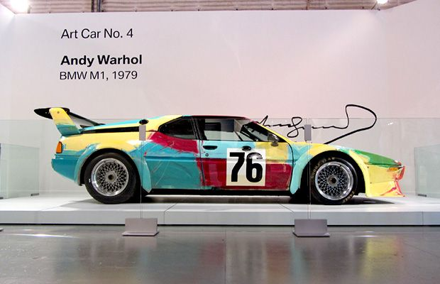 10 Interesting Facts On The Andy Warhol Bmw M1 Art Car Avec Images