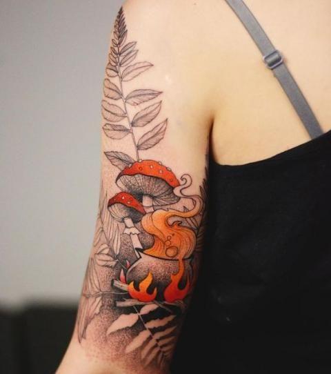 25 inspirations de tatouages qui célèbrent l'automne