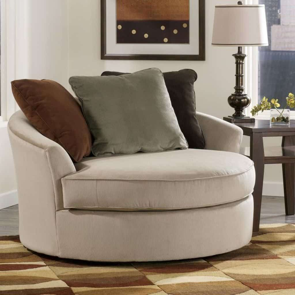 Unique And Comfortable Oversized Chairs Round Sofa Chair Round