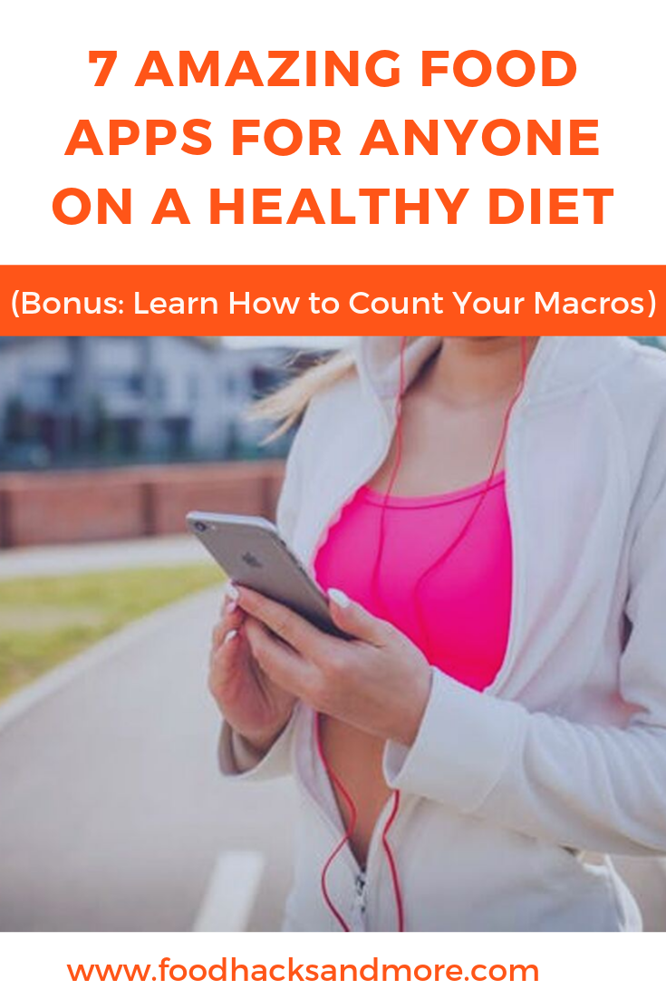 The best food apps for counting macros and staying on