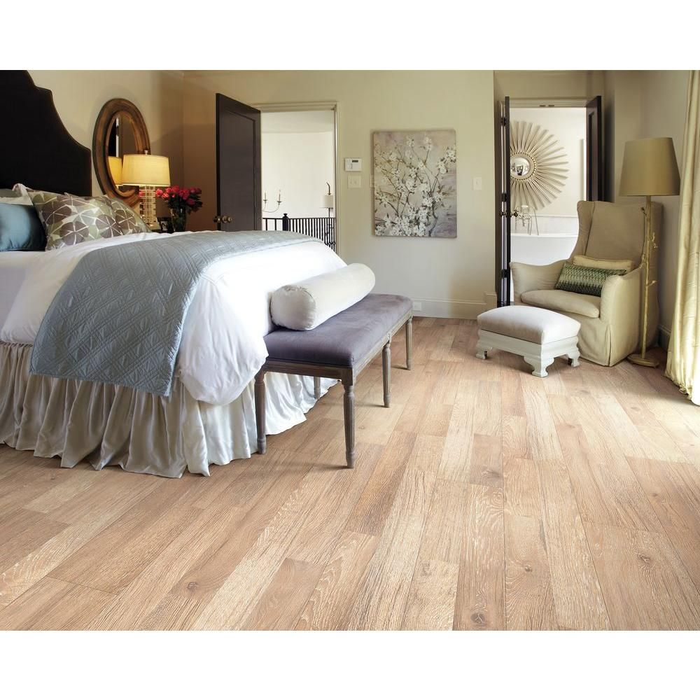 Home Decorators Collection Sumpter Oak 12 mm Thick x 8 in. Wide x 47 ...