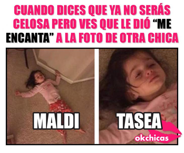 Memes De Mujeres Celosas