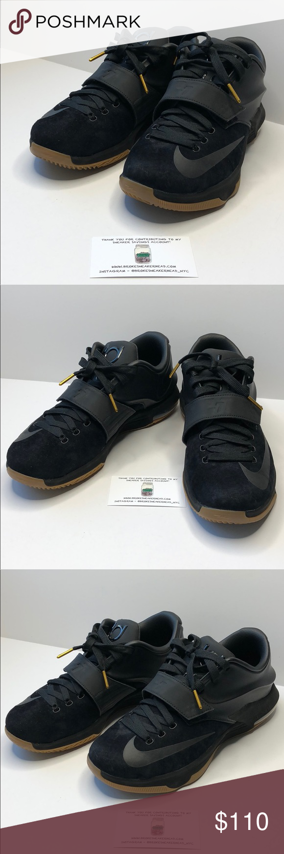best website 09b0d 22519 ... reduced kd 7 ext suede qs black black released 2014 no box nike shoes  sneakers c460b