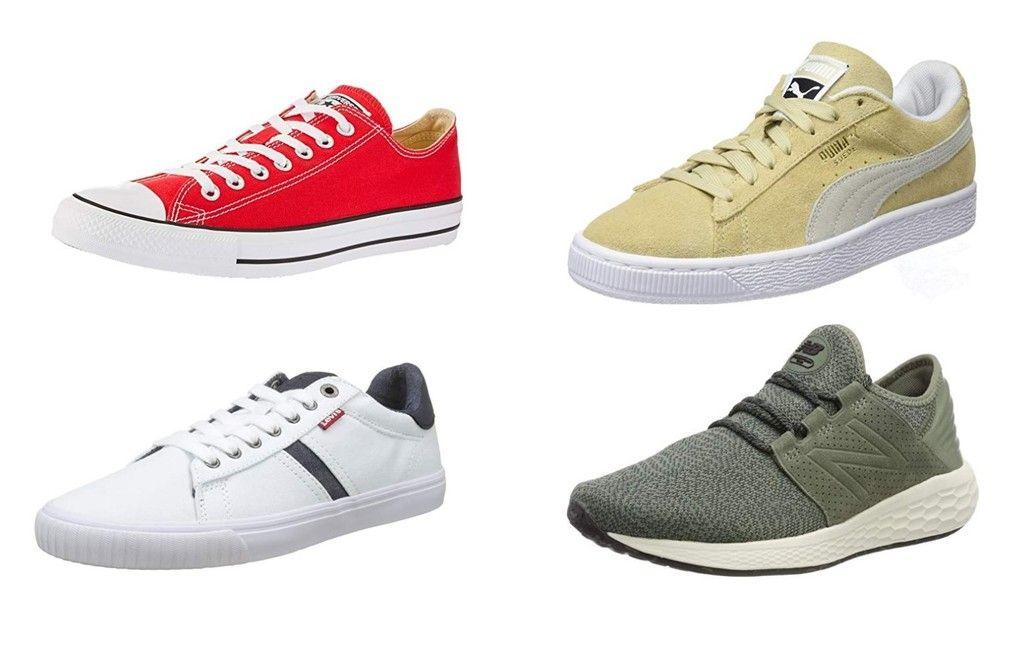 6 chollos en tallas sueltas de zapatillas Puma, Converse