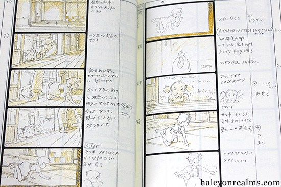 The Art of Totoro - The Storyboard Book - Halcyon Realms - Art Book