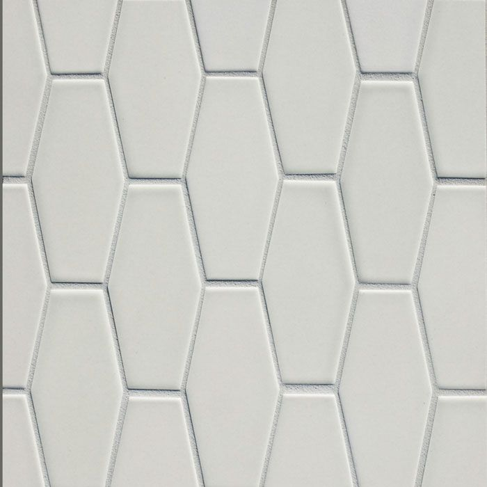 Small Elongated Hex Pratt Larson Tile Bathroom Tile Remodel