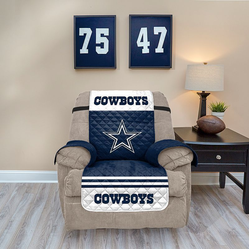 dallas cowboys chair cover lift chairs for sale quilted recliner products multicolor