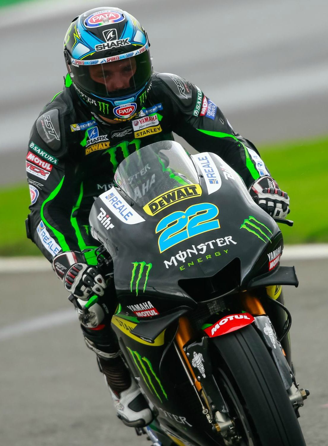 Alex Lowes Finished 13th In His Debut Race At The Britishgp In Silverstone Sportfahrrad Leder