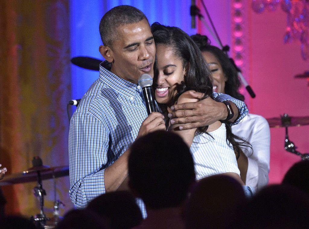 7 Vezes Em Que Barack Obama Foi Um Pai Incrivel Malia Obama