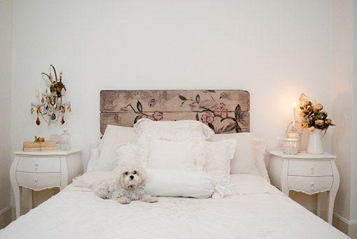 Dormitorio cozy www.mujernova.es  Reciclar es lo más chic.