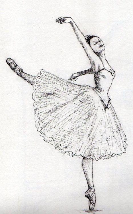 картинки рисунки балерин танцовщиц заявку поливомоечную машину