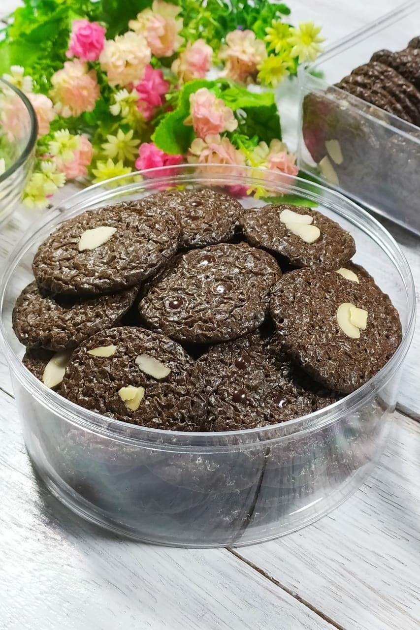 Resep Brownies Kering Crispy Enak Dan Nyoklat Banget Kue Kering Kukis Coklat Makanan Dan Minuman