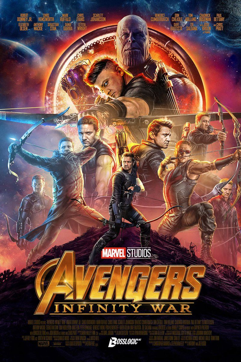 These Fan Made Avengers Infinity War Posters Make Up For The Lack Of Hawkeye In The Film S Marketing Marvel Infinity War Avengers Avengers Infinity War
