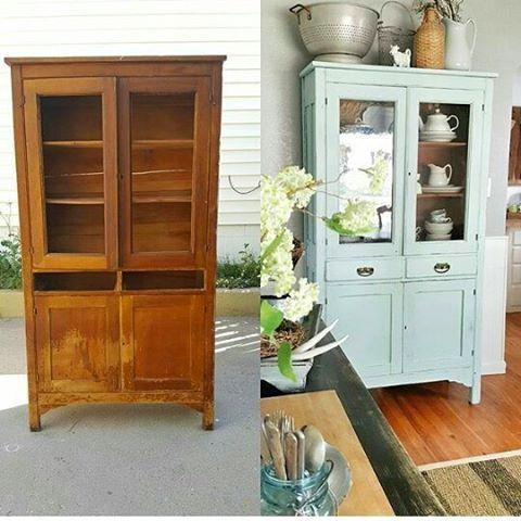 Quand je vous dis que de peindre un meuble ancien,ça lui donne du