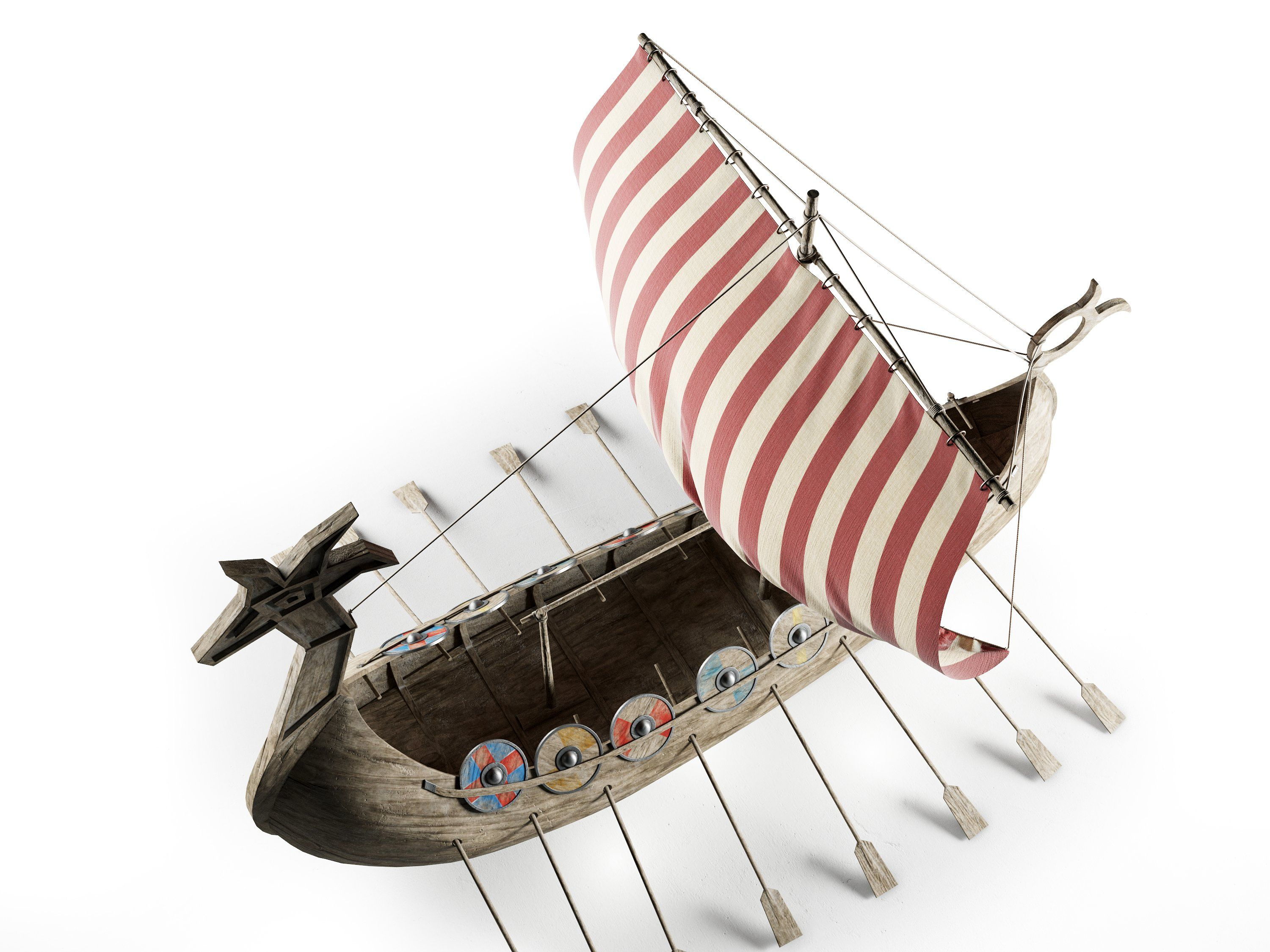 Viking Ship Viking Ship Creative Typography Design Vikings