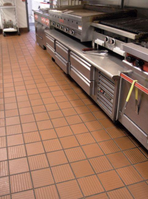 commercial kitchen tile