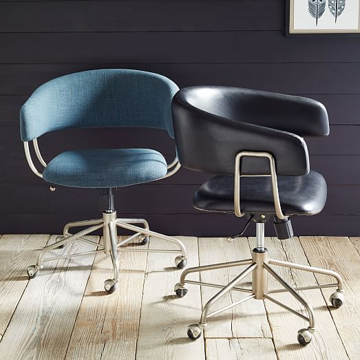 Halifax Upholstered fice Chair with wheels