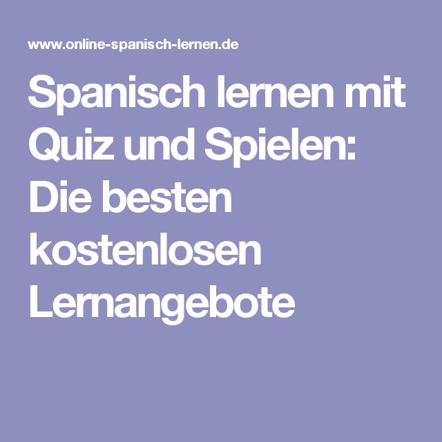 Spielen Auf Spanisch