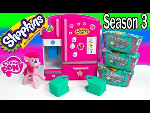 Shopkins Season 3 Opening Video 12 Pack Mystery Surprise