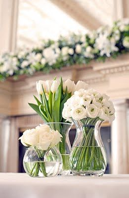 Single Color One Type Of Flower Per Vase Lots Of Different Vases