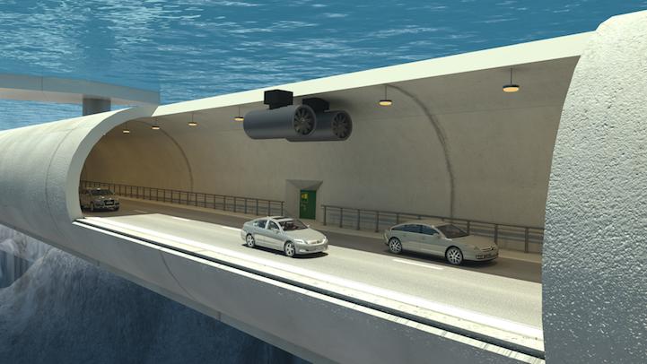En primer puente flotante sumergido del mundo permite el viaje Debajo fiordos noruegos - Mi Modern Met