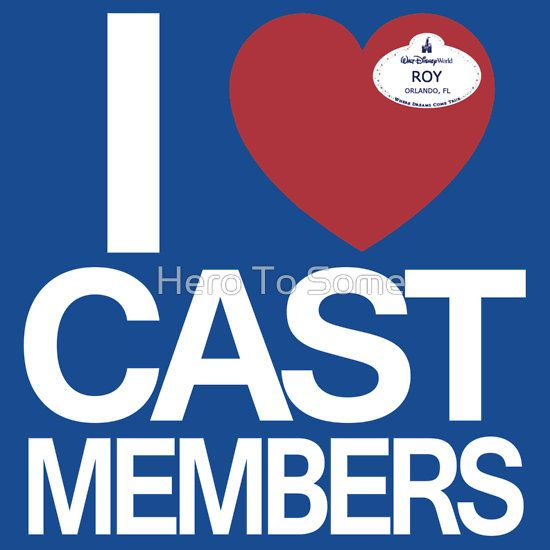 I Heart Cast Members (Orlando) by Hero To Some