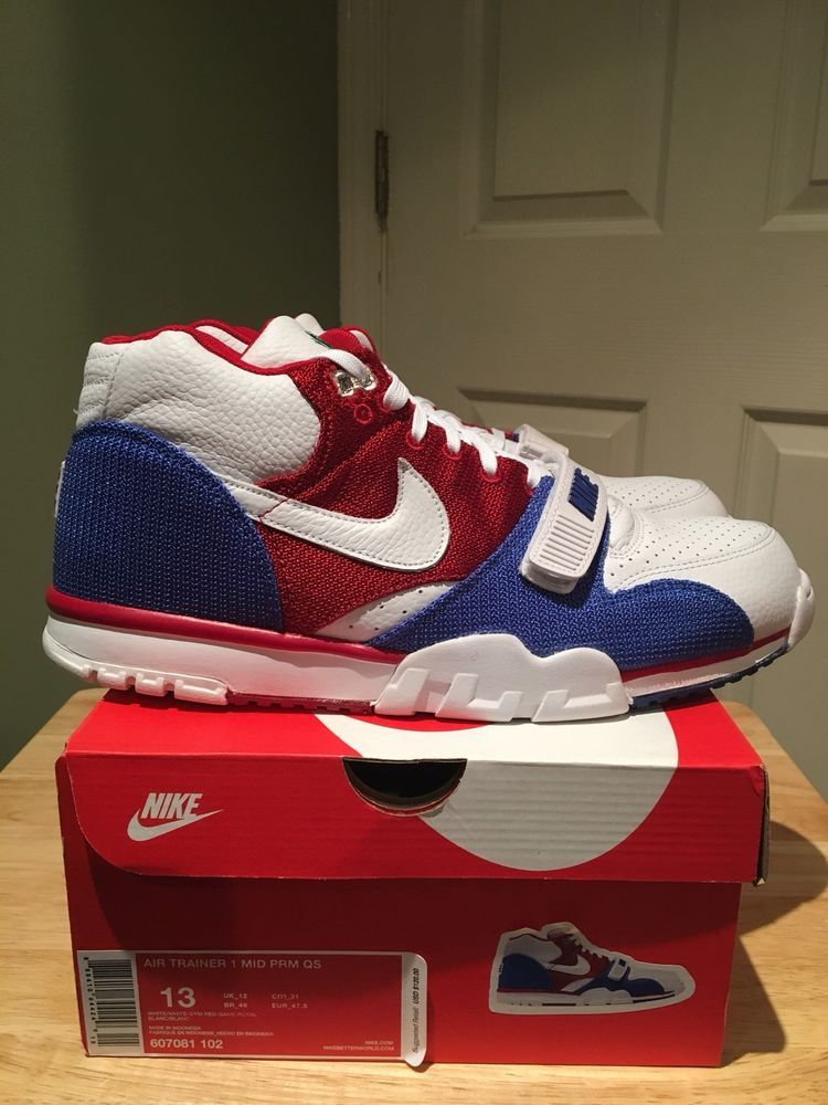 timeless design cb70a d01df Nike Air Trainer 1 Mid PRM QS Puerto Rico Size 13 607081-102  fashion   clothing  shoes  accessories  mensshoes  athleticshoes  ad (ebay link)