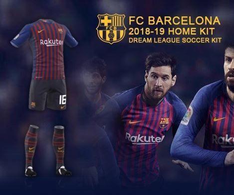 dream league soccer kits barcelona 2018 19 kit logo dream league
