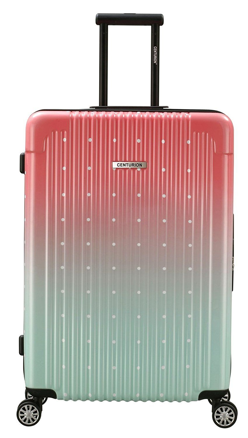 e1288932ed Gorgeous and stylish medium-sized suitcase option -- Hardside Spinner 26  inch in Ombre Pink! What a cool suitcase that will be easy to spot when  traveling.