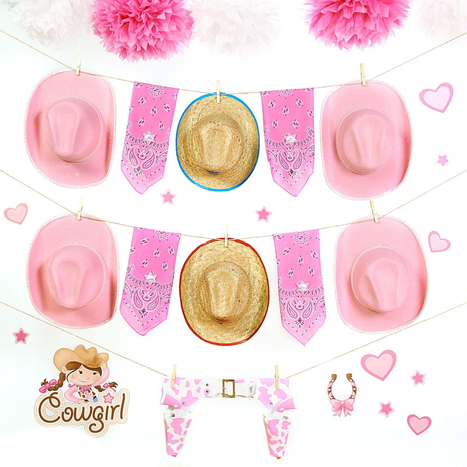 D.I.Y. Pink Cowgirl Dress Up Wall Decor | Addi\'s 3rd BDay ...