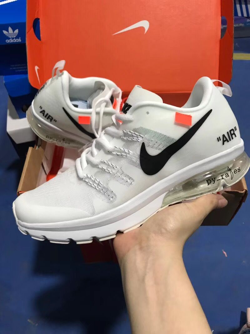 online store 481d4 03282 AIR MAX FLAIR 1 OFF WHITE