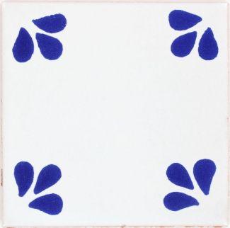 Blue Ville Terra Nova Mediterraneo Ceramic Tile With