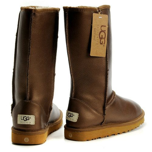 UGG Womens Gold Boots 5812 Tall Waterproof | Cheap Ugg Boots UK Store | Pinterest | Ugg classic, Gold boots and Uggs