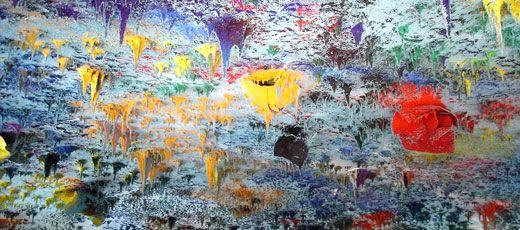 Famous Spanish Artist Miquel Barcelo Art Famous Modern Art Hispanic Artists