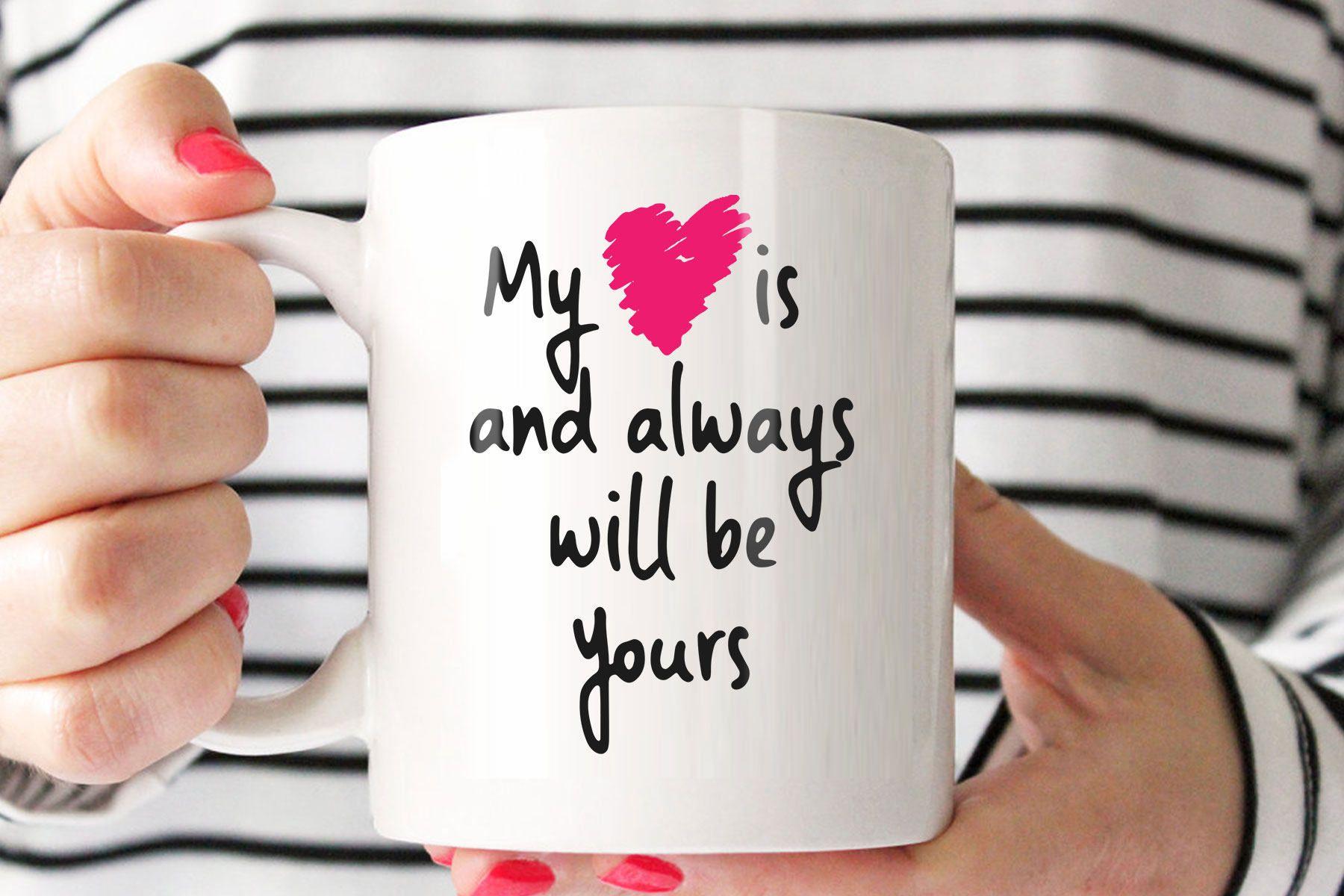 Romantic Mug For Him Romantic Mug Coffee Mug Quotes For Etsy Coffee Mug Quotes Mugs Cute Coffee Mugs