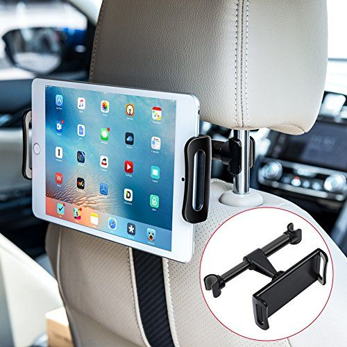 "NEW 360° Car Seat Headrest Mount Holder For iPad Mini Air 6th Gen Pro 9.7/""-10.5/"""