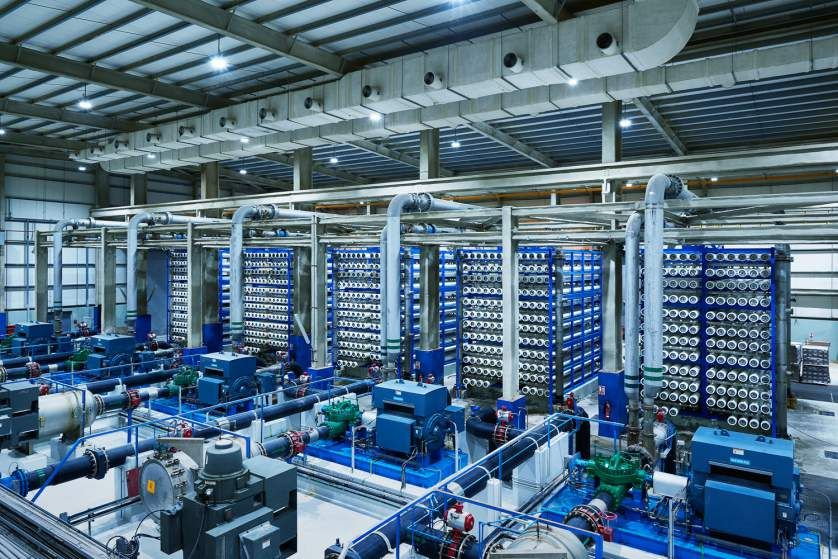Could This Giant Desalination Plant Solve Water Shortages