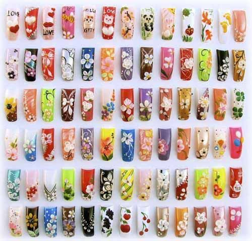 Creative nail design nail art designs gallery zimbio nails creative nail design nail art designs gallery zimbio prinsesfo Image collections