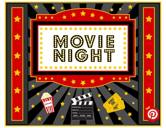 Download These Free Movie Night Printables Movie Night Poster See More Party Ideas And Share Yo Movie Night Decorations Movie Night Flyer Movie Night Poster