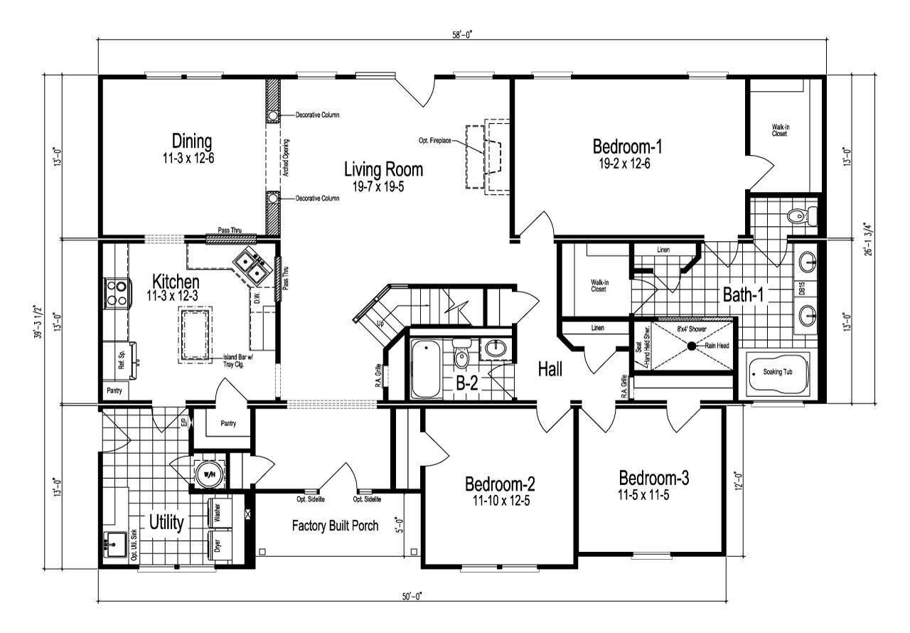 Floor Plan The Richland