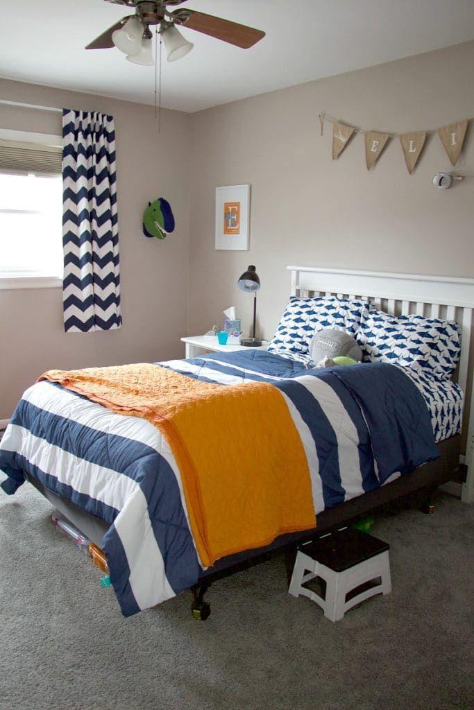 Preschool Boy Bedroom Decorating Ideas