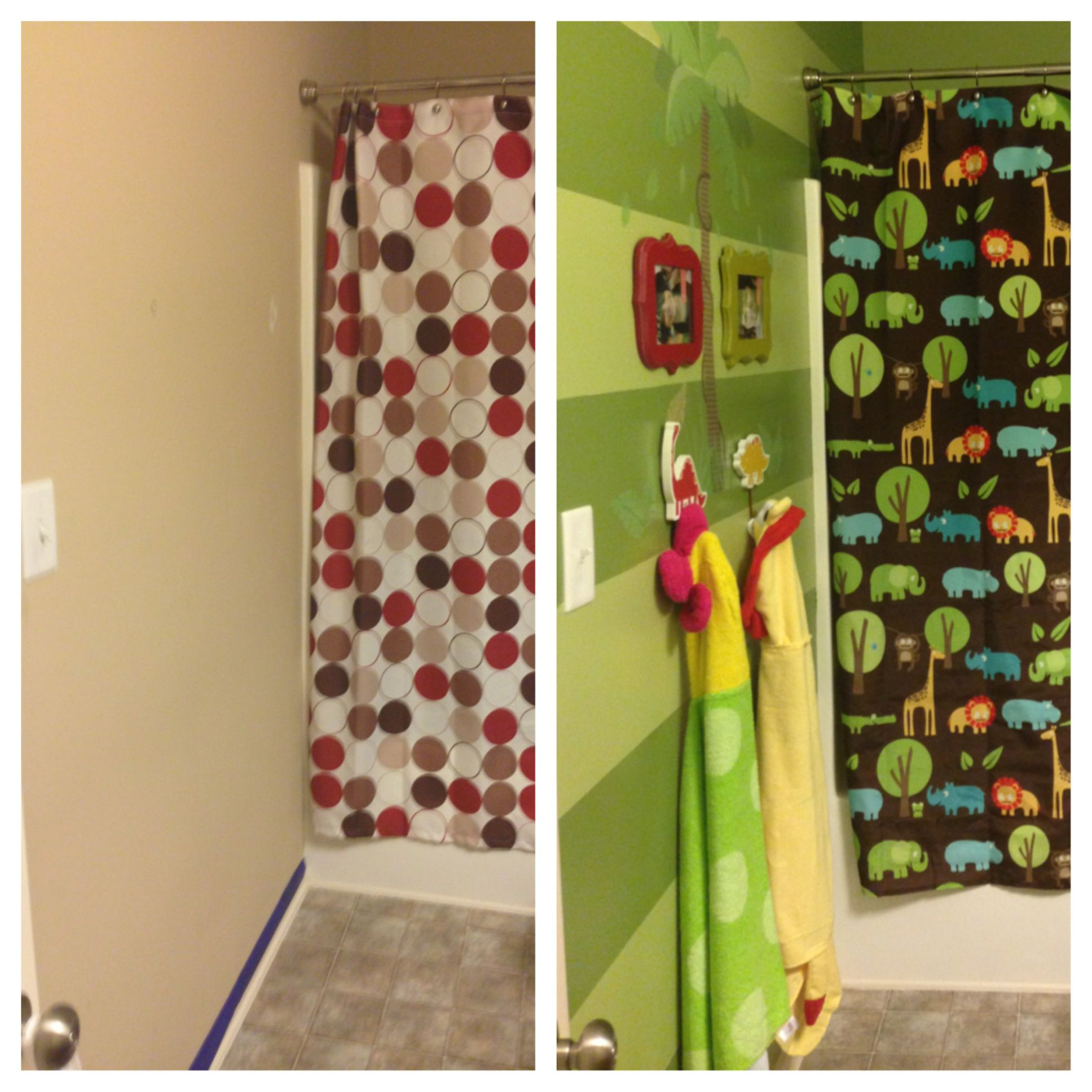 Jungle Theme Bathroom Kids