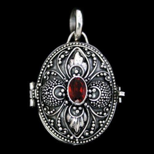 m daillon avec avec pierre pr cieuse grenat bijoux pendentif 925 argent bracelets jewels. Black Bedroom Furniture Sets. Home Design Ideas