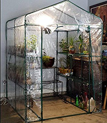 72 Amazon Com Plant Large Walk In Greenhouse With Clear 400 x 300