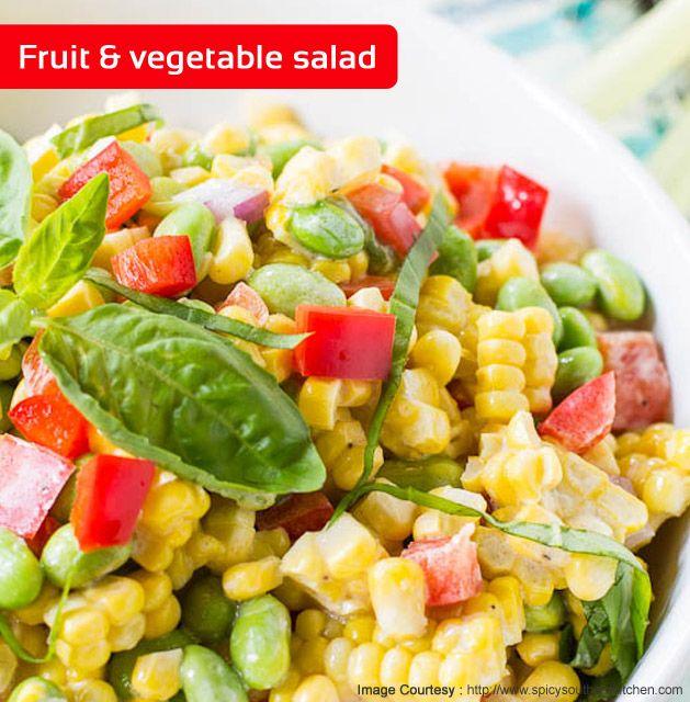 Fruit vegetable salads an irresistible salad by chef sanjeev food forumfinder Choice Image