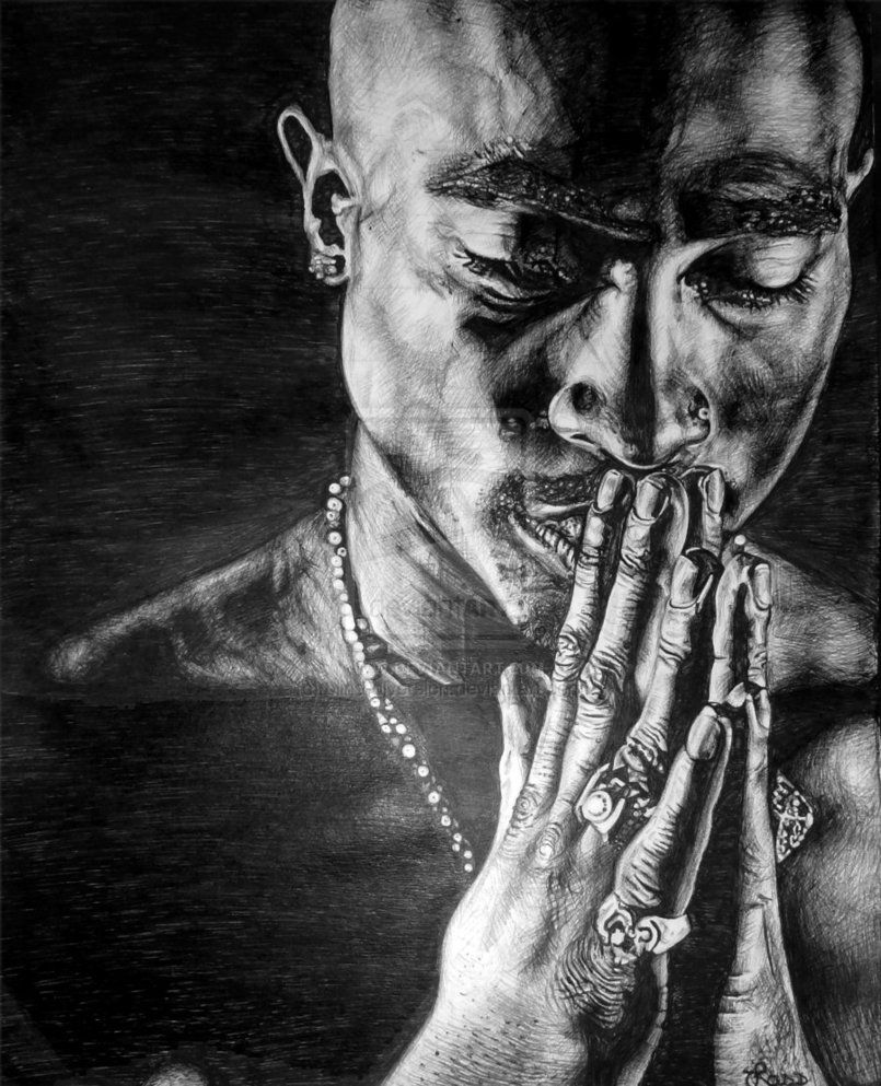 2pac' By Blind-diversion