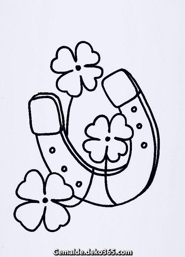 Kreative Und Grossartige Bilder Zum Ausmalen Und Ausmalen Neujahr 1 23g Saint Patricks Day Art Disney Diy Crafts Coloring For Kids